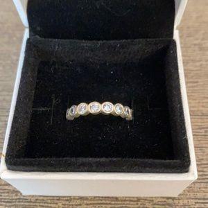 Pandora silver Eternity Ring 52